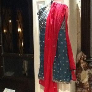 Dresses & Skirts - ✂💵Stunning Indian outfit salwar Kameez