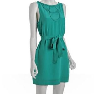 $340 new BCBG silk cocktail dress