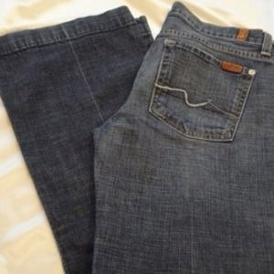 7 for all Mankind Denim - 7 For All Mankind jeans in medium rinse