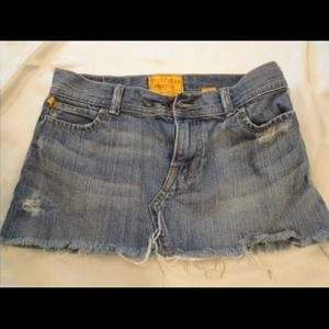 Hollister Denim - Hollister denim skirt