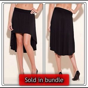 Guess Dresses & Skirts - Guess black high low skirt