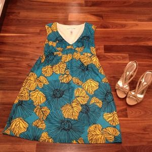 $178 Laundry By Design floral dress new!