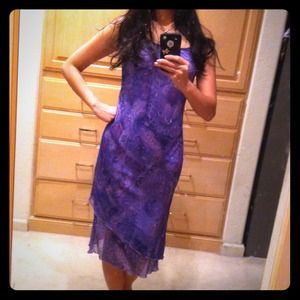 purple rampage dress