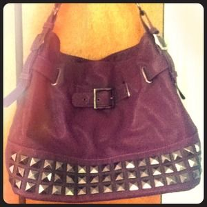 Melie bianco studded hobo bag