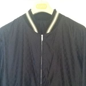 Gucci monogram windbreaker jacket