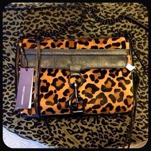 Rebecca Minkoff Handbags - SOLD! NWT Cheetah Rebecca Minkoff Mac Clutch