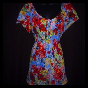 Tops - Colorful Floral Top