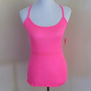 Tops - NEW Neon Pink racer back tank