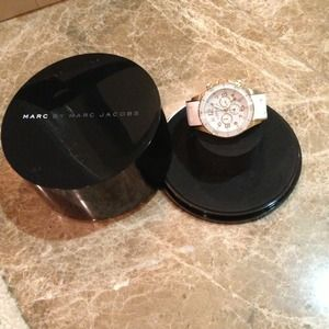 Marc by Marc Jacobs Clutches & Wallets - 🔴SOLD Marc Jacobs white watch