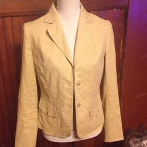 CLEARANCE Banana Republic Linen Blazer