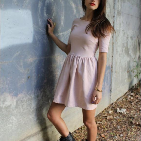 ❌SOLD❌Zara rose dress