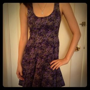 Urban Outfitters Dresses & Skirts - Purple floral dress