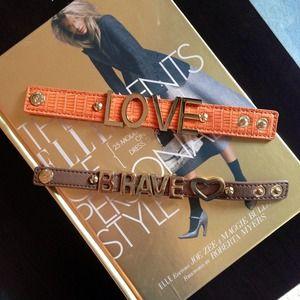 SOLD - Set of Two BCBG bracelets