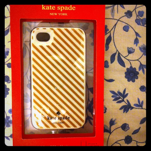 kate spade Accessories - New Authentic Kate Spade IPhone 4 Case