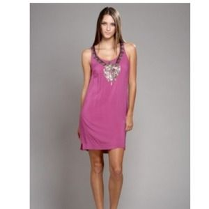 Isabel Lu violet sequin dress