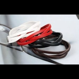 Jewelry - Leather like bracelets!