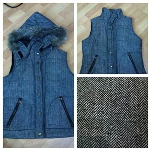 Outerwear - ❌Reserved❌Herringbone style vest