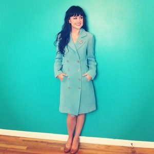 J. Crew Jackets & Coats - Bundle for CaseyRenee: JCrew Coat + Vintage Dress 1