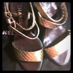 CHANEL Shoes - Authentic Chanel shoes. Will take BEST OFFER!
