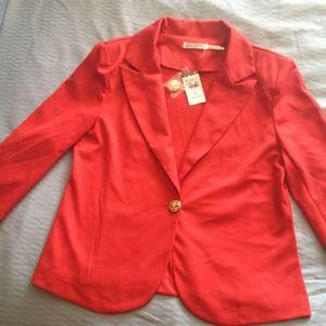Jackets & Blazers - Red blazer NWT