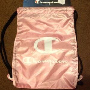 NWT BRAND NEW Pink Champion bag.
