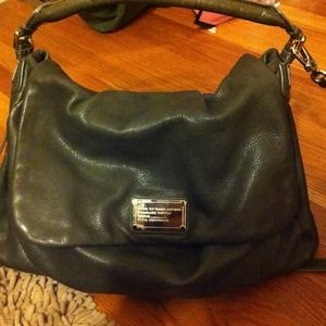 Marc by Marc Jacobs Handbags - Marc jacobs grey leather bag