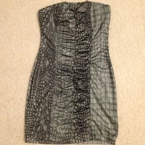 Dresses & Skirts - Snake print Design Tube Top Dress