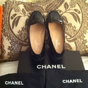 CHANEL Shoes - Reduced CHANEL LOAFERS SHOES Black w BOX
