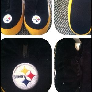 Other - ✋for @jcb_asb✋Steeler slippers $19 including s&h
