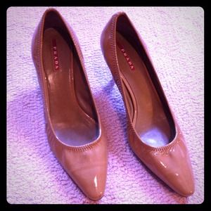 Prada Shoes - 1 DAY SALE! Prada Patent Leather Heels