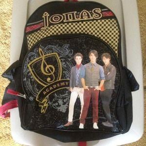 Handbags - Jonas Brothers Backpack!