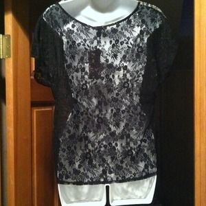 Soprano Tops - 🐩Sale Soprano Top with Sheer Front and Lace Back