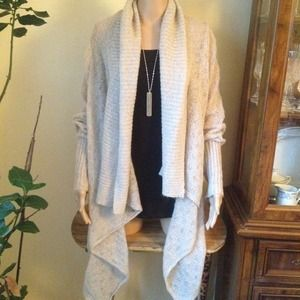 Sweaters - Oatmeal Soft and Comfy Sweater or Cardigan