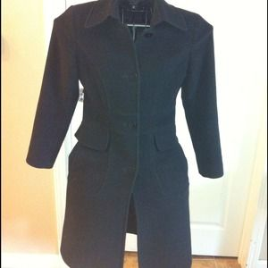 Reduced! DKNY black coat