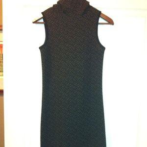 DKNY-floor length knit dress