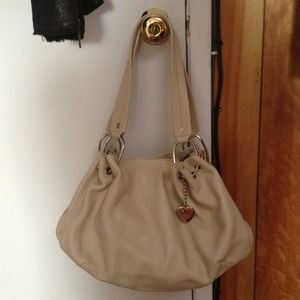 Brand new, authentic Juicy Couture Fluff bag beige
