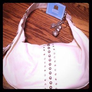 Handbags - 🌃REDUCED PRICE🌃Large white Kathy Van Zeeland bag
