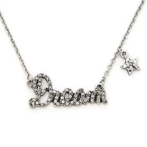 Jewelry - NWOT! Silver Sparkling DREAM Necklace