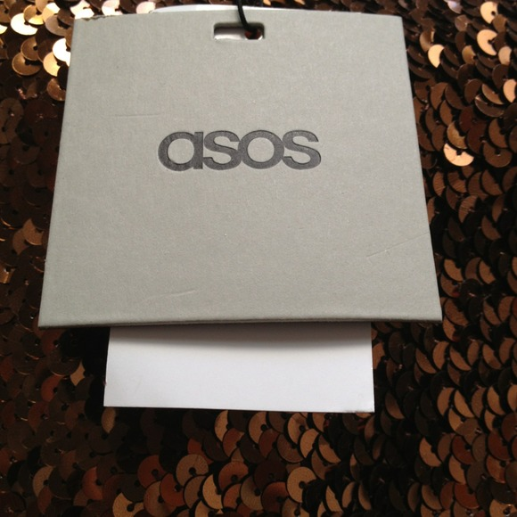 ASOS Dresses & Skirts - Brand new w/tags bronze sequin bodycon skirt! 3