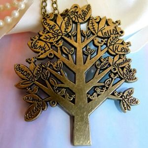 Once Upon a Wishing Tree Necklace