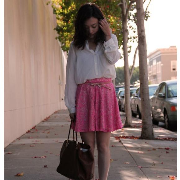 H&M Dresses & Skirts - Pink skirt