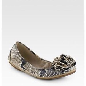 Juicy Couture Shoes - ❌SOLD❌Juicy Couture Snake Print Flats 6