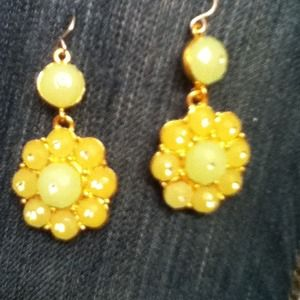 bebe Jewelry - Bebe  lime green earrings