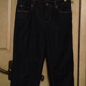 Tommy Hilfiger Denim - Tommy Hilfiger dark Capri jeans::sold