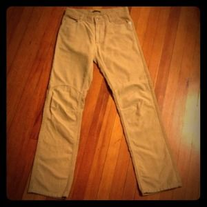 JUST REDUCED AGAIN Sisley Tan Corduroy Pants