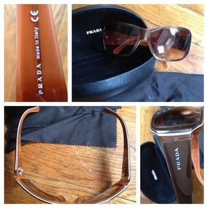 Prada Accessories - Authentic Prada sunglasses with case & cloth
