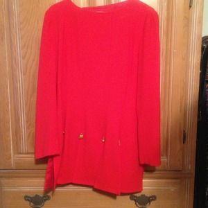 Dresses & Skirts - Red Pierre Balmain suit