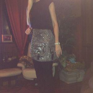 Banana Republic Bags - RESERVED FOR ELENABanana Rep Snakeskin Leather Bag 2