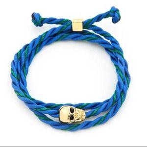 Jewelry - NWOT! Skull Wrap Bracelet
