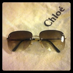 Chloe Accessories - Authentic Chloé Sunglasses w Case & Cloth. EUC